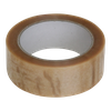 Tape 38mm 28my PVC Solvent 66m op rol Transparant