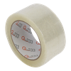 Tape 50mm 35my PP Acrylaat 66m op rol Q333 Transparant